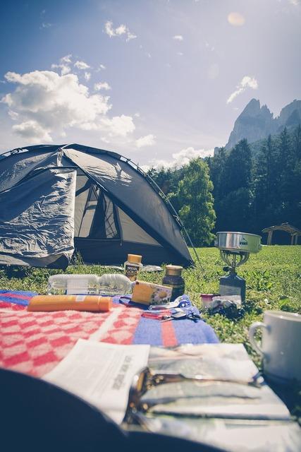 Camping camp nature, travel vacation.