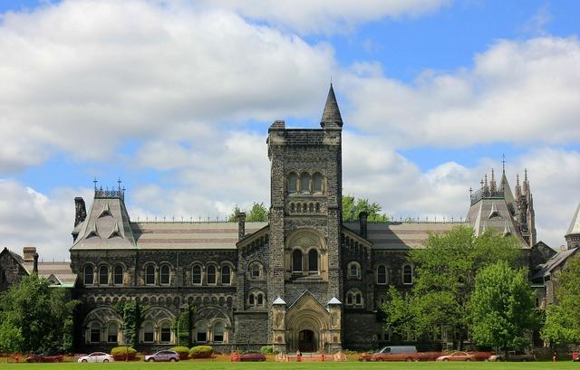 Campus ontario toronto, architecture buildings.