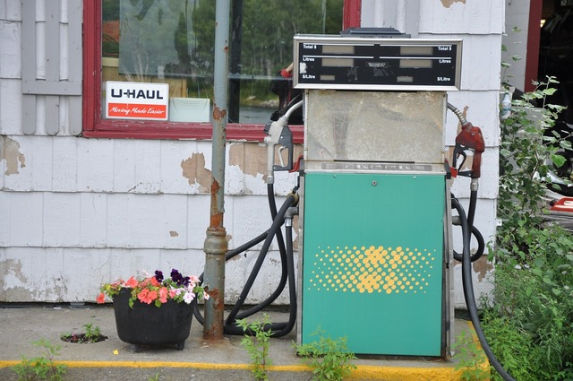 Canada cape breton old gas station.