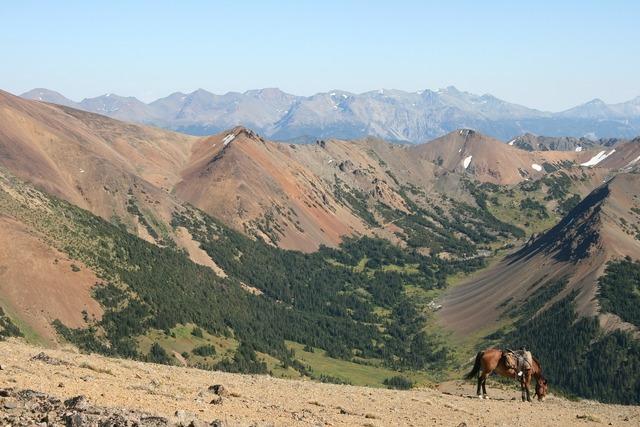 Canada chilcotin mountains.