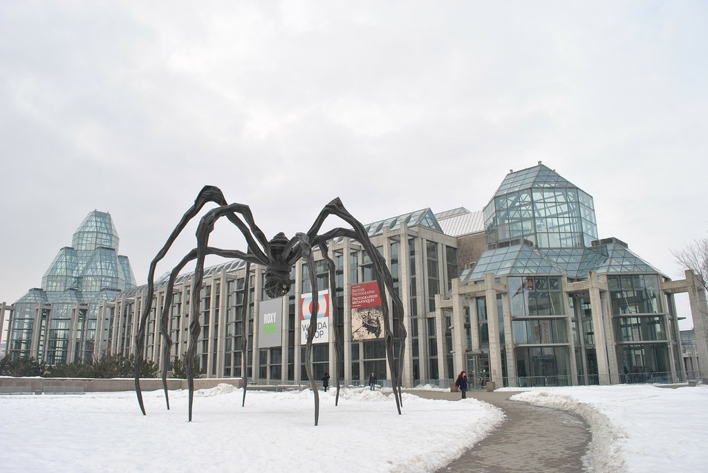 Canada ottawa art gallery, architecture buildings.