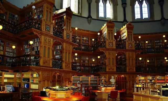 Canada ottawa library.