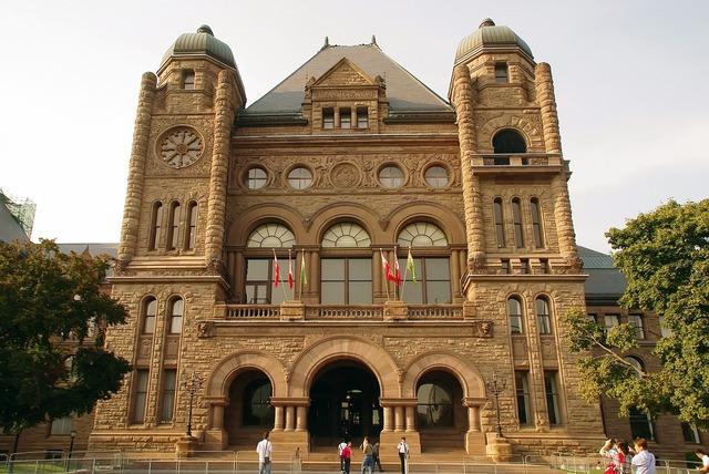 Canada toronto university, architecture buildings.