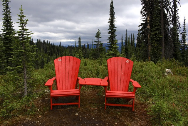 Canada wilderness chairs.