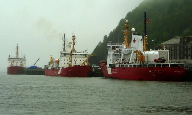 Canadien coast guard vessel ship.