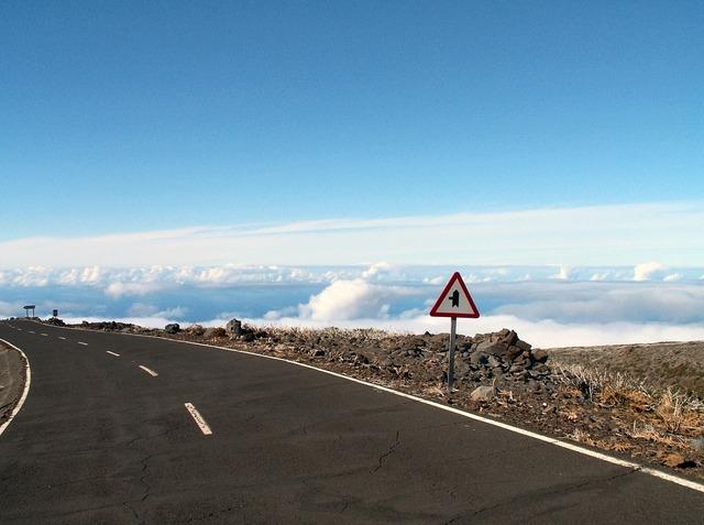 Canary islands canarias la palma, transportation traffic.