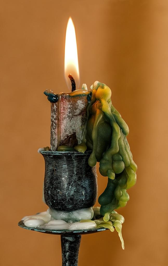 Candle candle wax candlelight.