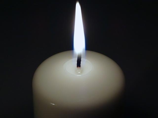 Candle candlelight flame.