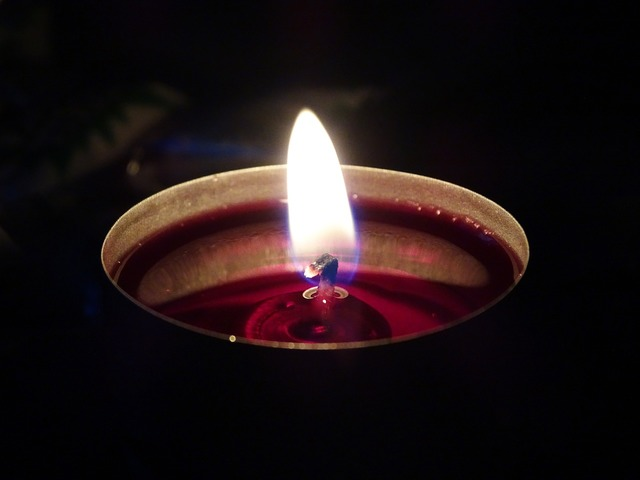 Candle flame candlelight.