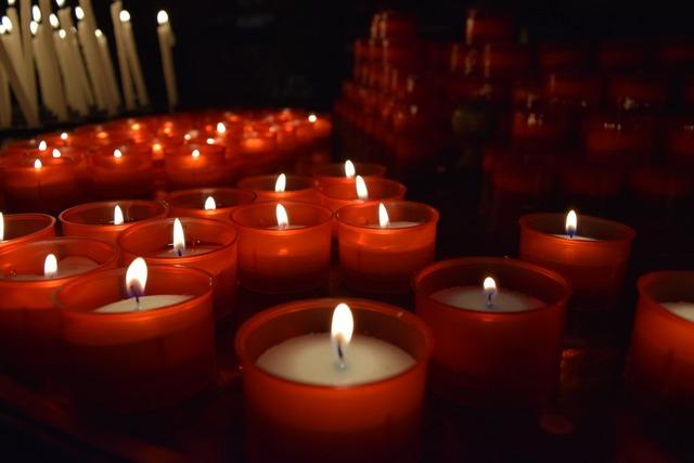 Candles church duomo, religion.