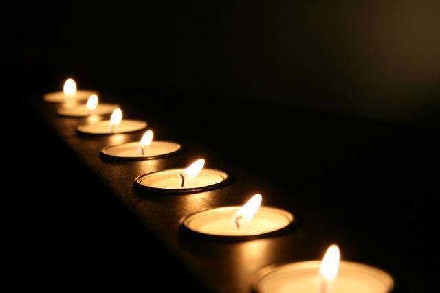 Candles light fire.