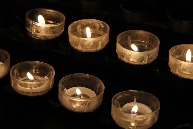 Candles prayer church, religion.