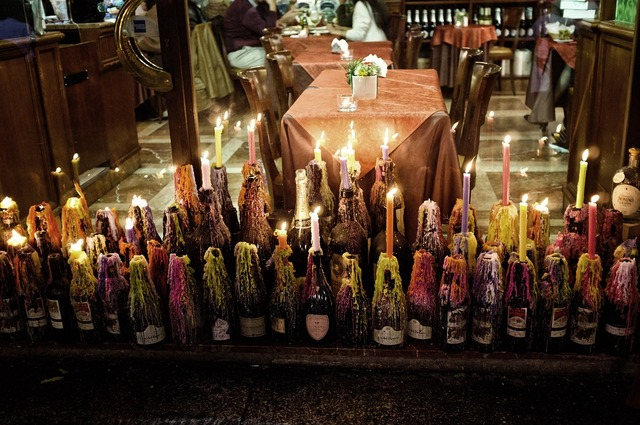 Candles stree milan.