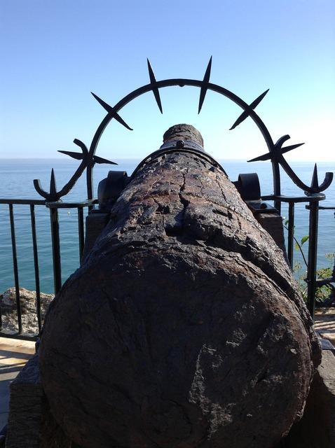 Cannon old cannon vintage, places monuments.