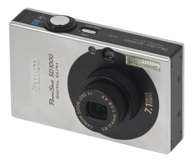 Canon powershot sd1000 digital camera 7-1 pm megapixels, science technology.