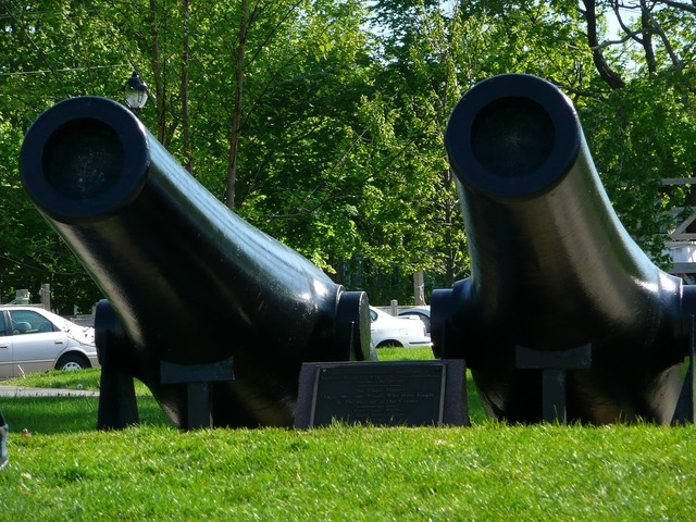 Canons decommissioned exhibits.