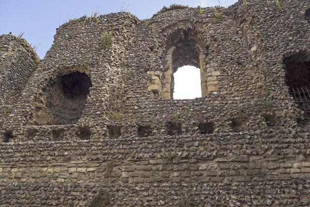 Canterbury castle castle burgruine.