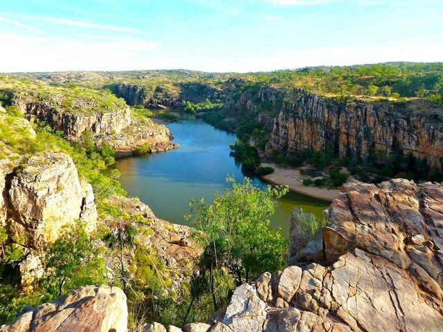 Canyon australia river, places monuments.
