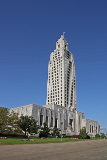 Capitol building baton rouge, architecture buildings.
