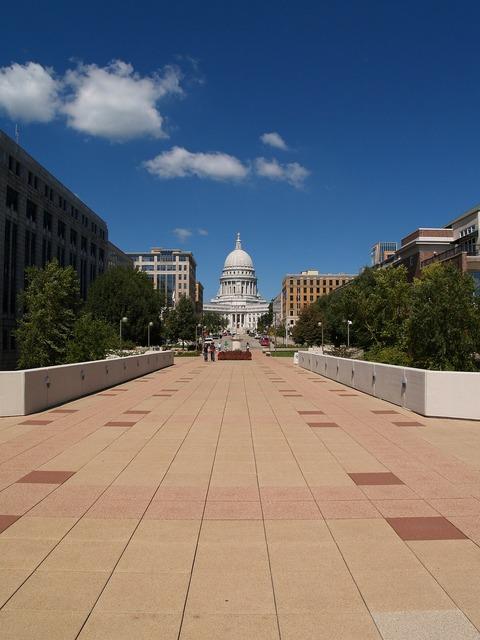 Capitol government building, architecture buildings.