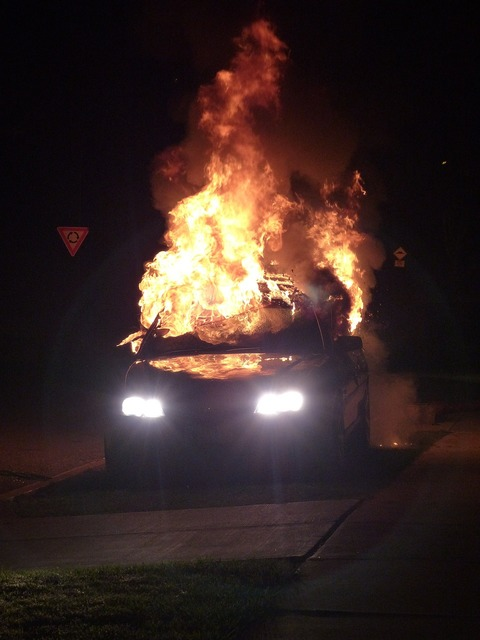 Car bomb fire bomb car accident, transportation traffic.