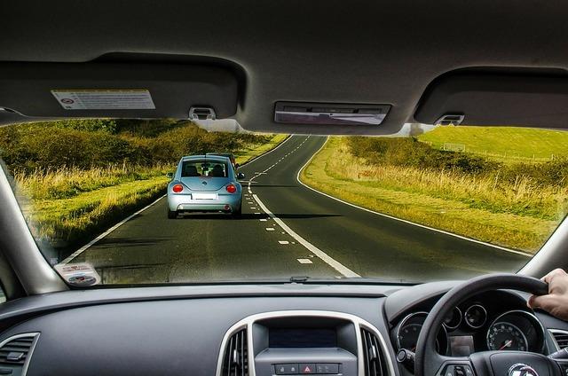 Car driving road, transportation traffic.