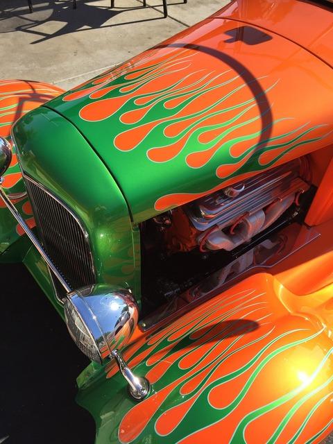 Car hot rod custom, transportation traffic.