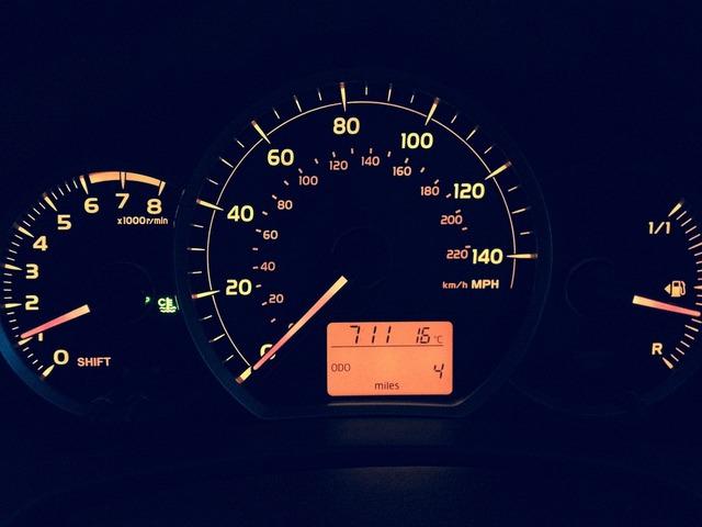 Car miles low mileage, transportation traffic.