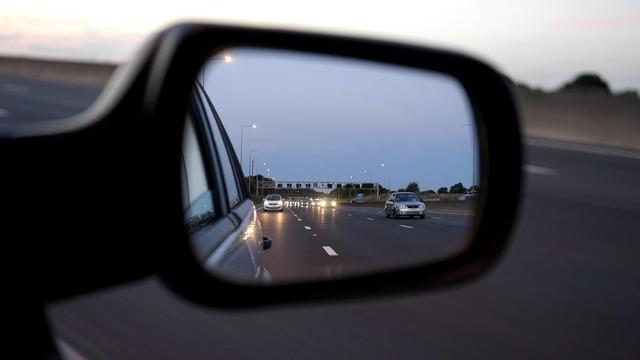 Car mirror vehicle, transportation traffic.