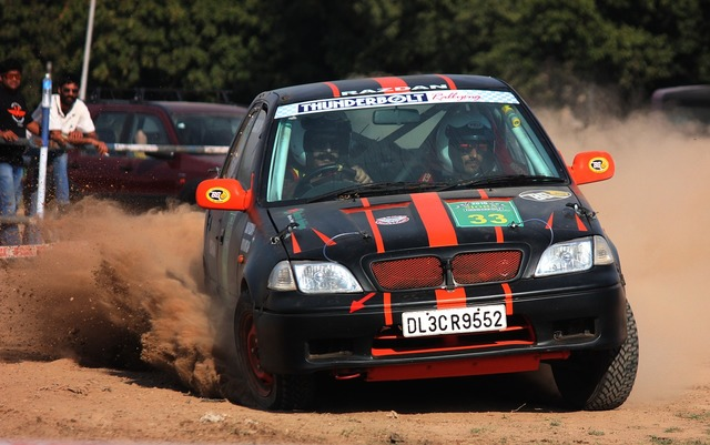 Car rally race, transportation traffic.