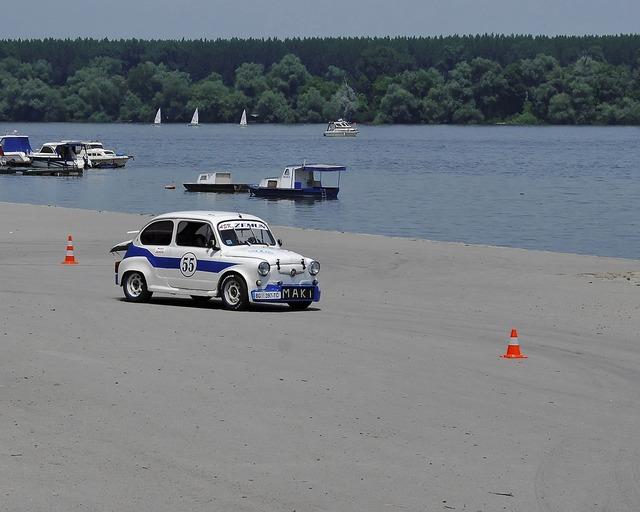 Car sport training, transportation traffic.