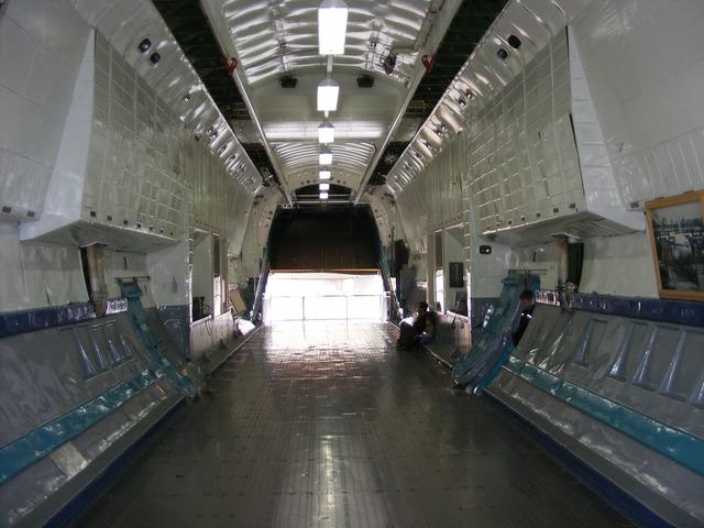 Cargo space cargo aircraft aircraft.