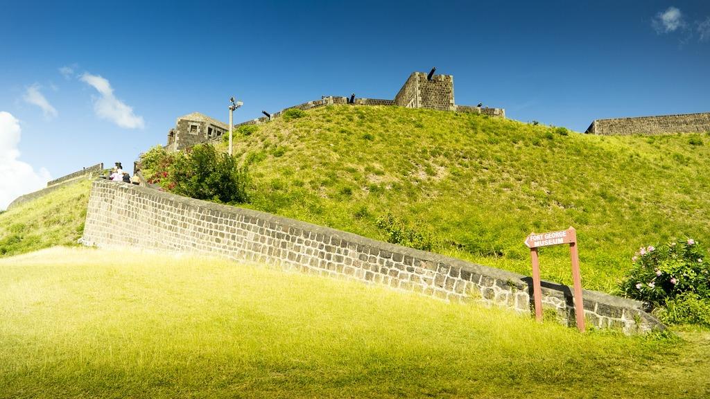 Caribbean fortress historically, travel vacation.