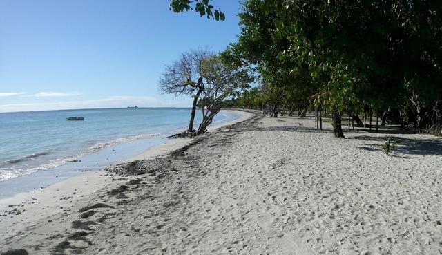 Caribbean guadeloupe beach, travel vacation.