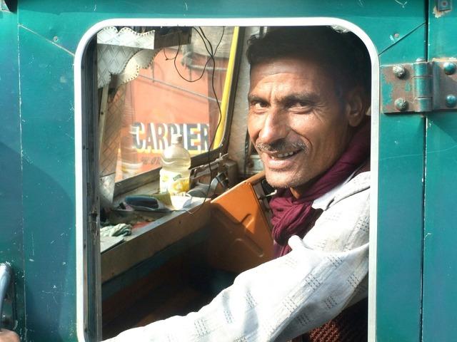 Carman truck india, transportation traffic.