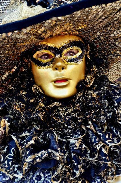 Carnival mask venice.