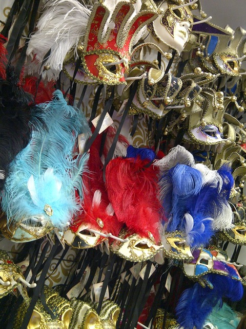 Carnival masks mask.