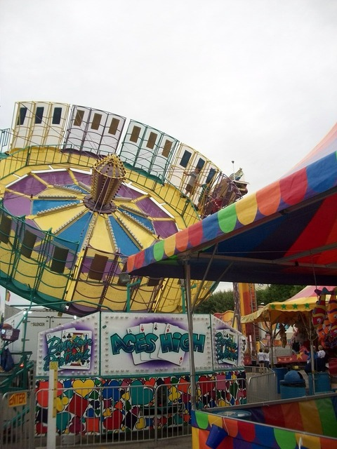 Carnival summer fun, emotions.