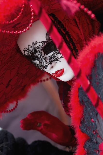 Carnival venice mask.