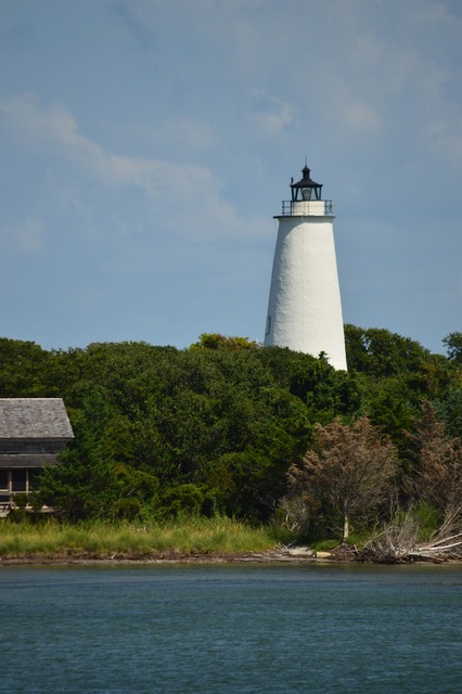 Carolina lighthouse island, places monuments.
