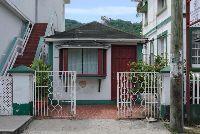 Carriacou grenada caribbean, architecture buildings.