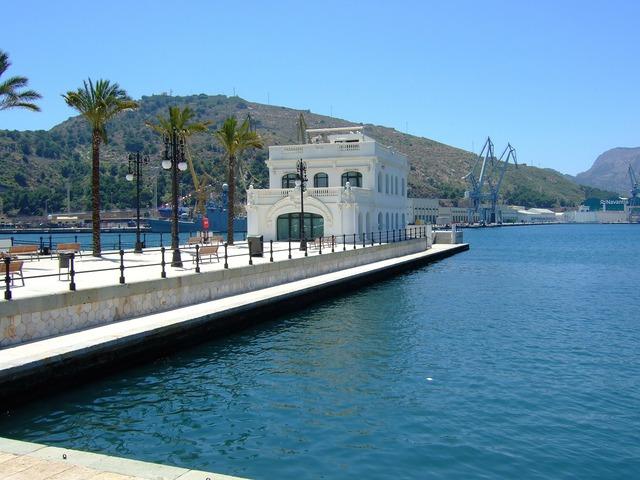 Cartagena murcia port.
