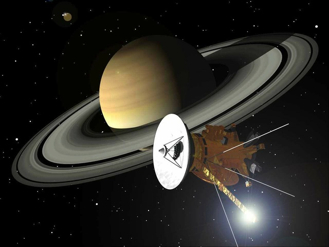 Cassini saturn rings, science technology.