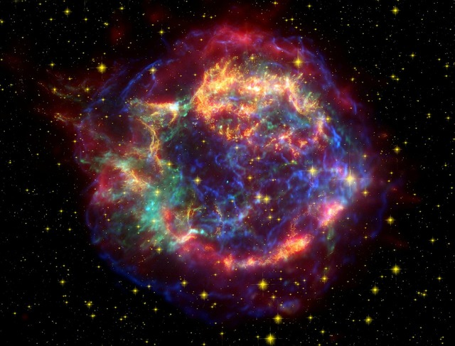Cassiopeia a cas a supernova rest, science technology.