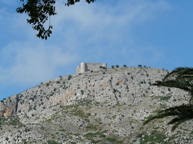 Castell del montgrí castle building, architecture buildings.