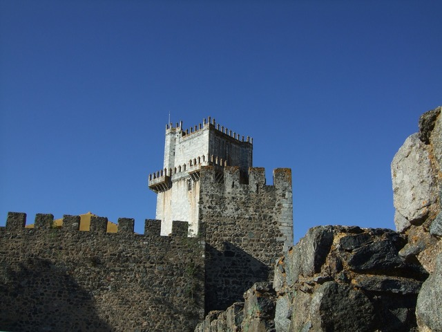 Castelo de beja castle portugal.