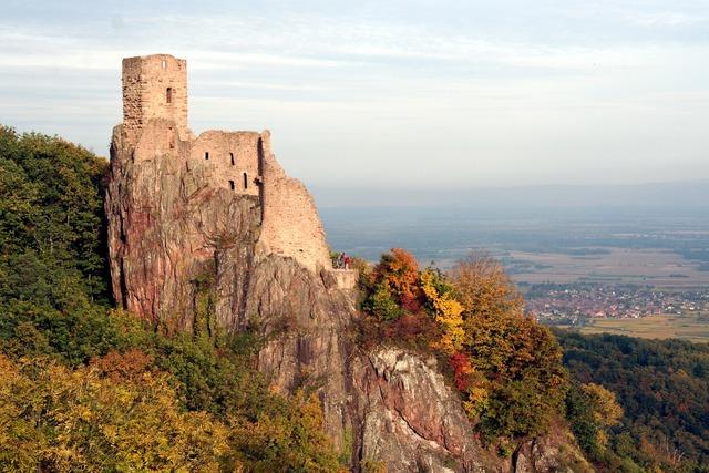 Castle alsace heritage.