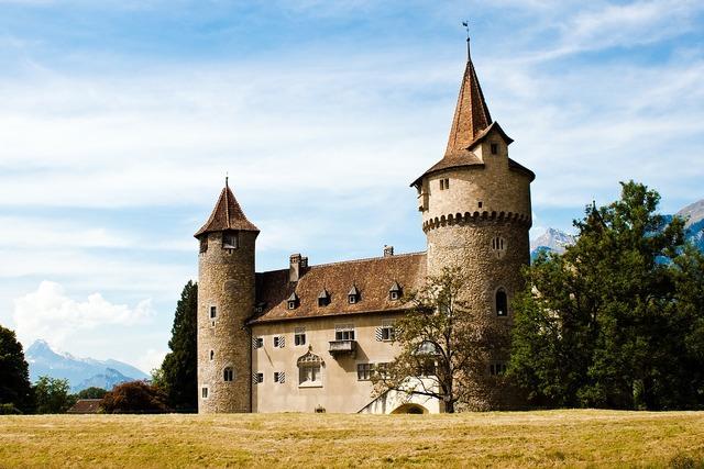 Castle architecture medieval, architecture buildings.