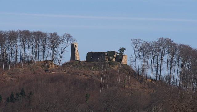 Castle breisgau ruin.