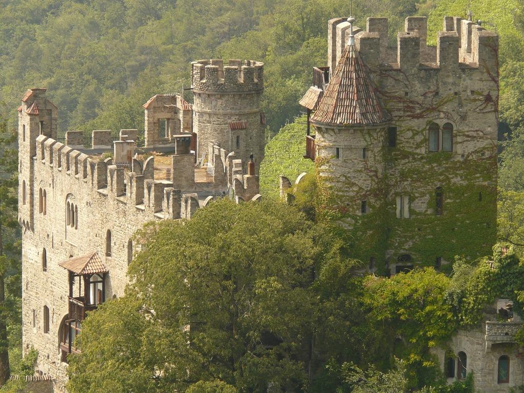 Castle building wall, architecture buildings.